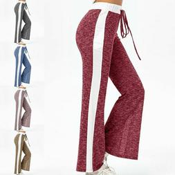 Women Summer Trousers Long Pants Casual Loose Clothing Wide