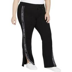 Calvin Klein Performance Womens Black Sweatpants Athletic Pl
