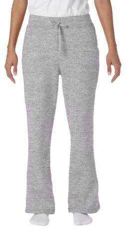 Gildan womens Heavy Blend 8 oz. 50/50 Open-Bottom Sweatpants