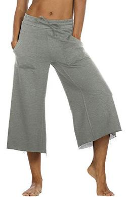womens joggers sweatpants athletic lounge cotton terry