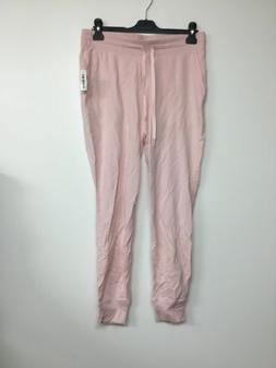 Amazon Essentials Women's Pink Terry Capri Jogger Pants Sw