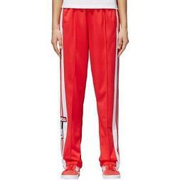 adidas Originals Womens Red Fitness Running Yoga Sweatpants