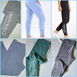 CALVIN KLEIN Women`s Sweatpants Athletic pants Joggers Big L