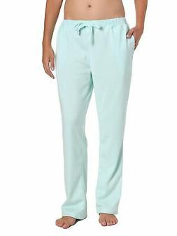Noble Mount Womens Towel Brushed Sweatpants - Aqua - Small