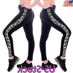 womens workout leggings sports yoga gym fitness