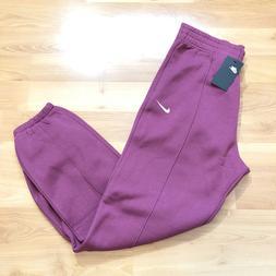 Women's XS Mauve Nike Sportswear Essential  Fleece Loose F