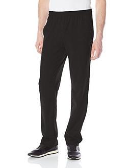Hanes X-Temp Men's Jersey Pocket Pant Black L