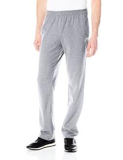 Hanes X-Temp Men's Jersey Pocket Pant Light Steel M