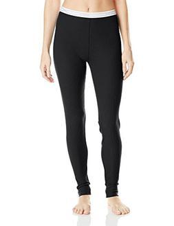 Hanes Women's X-Temp Thermal Underwear Bottoms, Black, Small