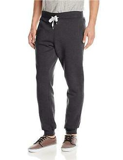 Young Mens SOUTHPOLE Fleece Jogger Pants S, Heather Charcoal