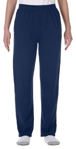 Jerzees Youth 8 oz., 50/50 NuBlend Open-Bottom Sweatpants, X