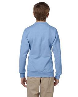 Hanes Youth ComfortBlend EcoSmart Crewneck Sweatshirt, Light