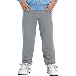 Hanes Youth ComfortBlend EcoSmart Sweatpants, Light Steel, M