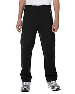 Russell Athletic Youth Dri-Power Open-Bottom Fleece Pant, BL