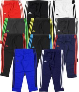 Adidas Youth Game Time 3 Stripe Fleece Pants, Color Options