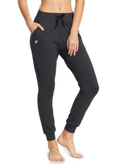 Baleaf Youth Girl's Yoga Lounge Sweat Pants Active Jogger Wo
