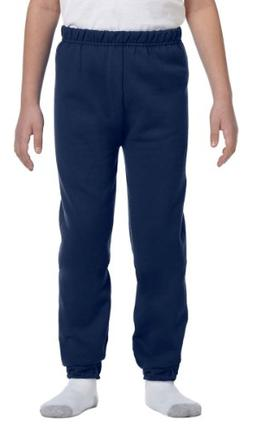 Jerzees Youth NuBlend Fleece Sweatpant, J NAVY, X-Large